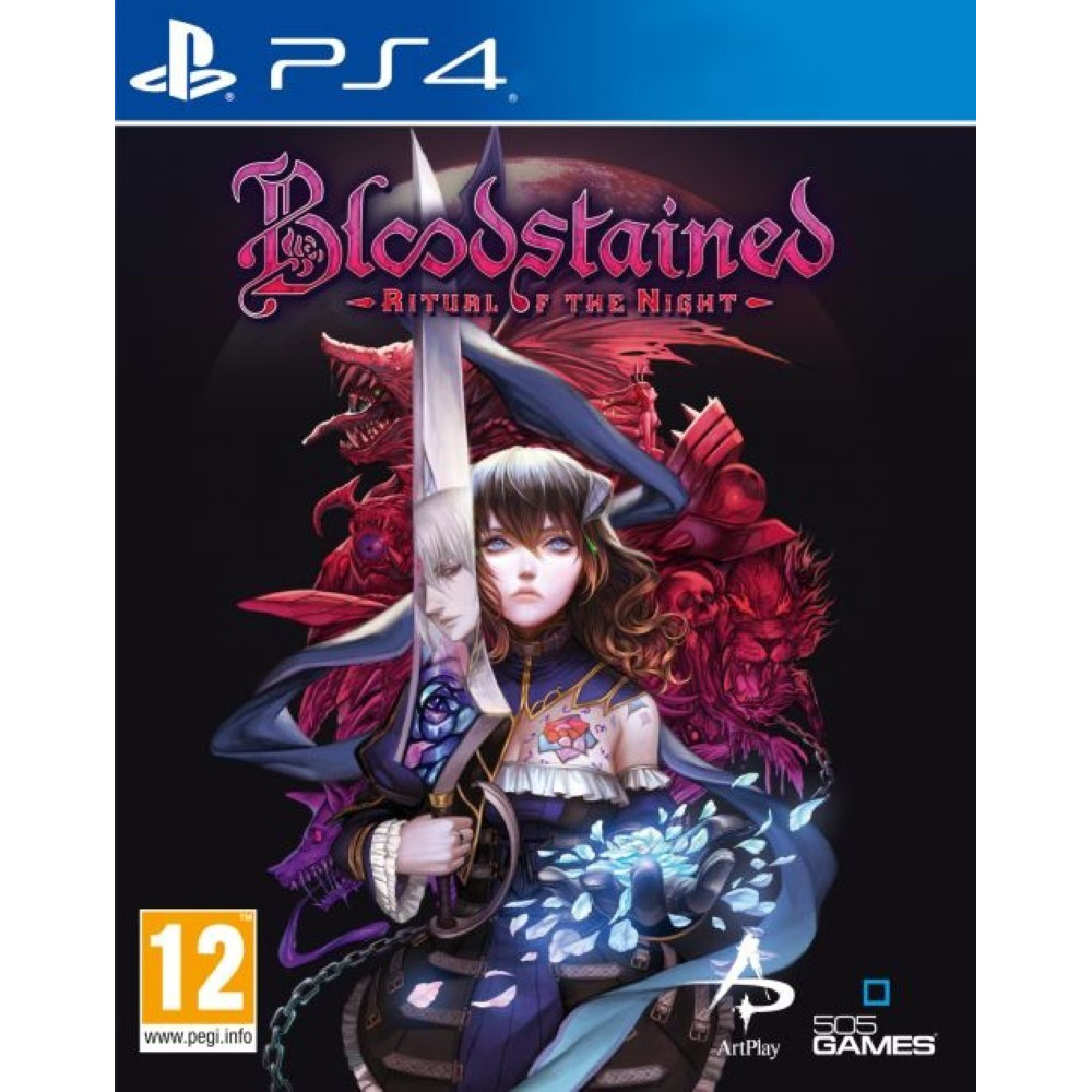 BLOODSTAINED RITUAL OF THE NIGHT PS4 UK OCCASION