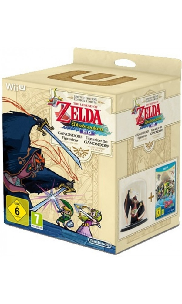 LEGEND OF ZELDA THE WINDWAKER HD COLLECTOR WIIU PAL-EURO OCCASION