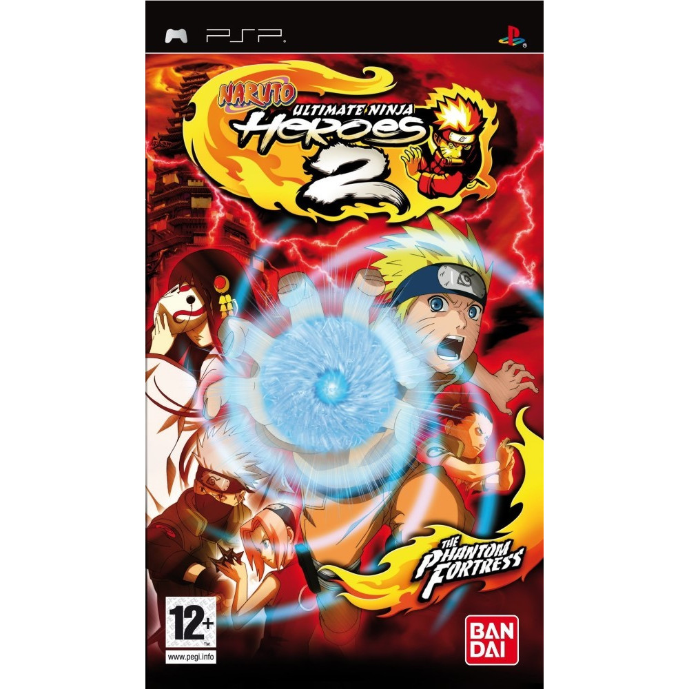 NARUTO ULTIMATE NINJA HEROES 2 PSP FR OCCASION