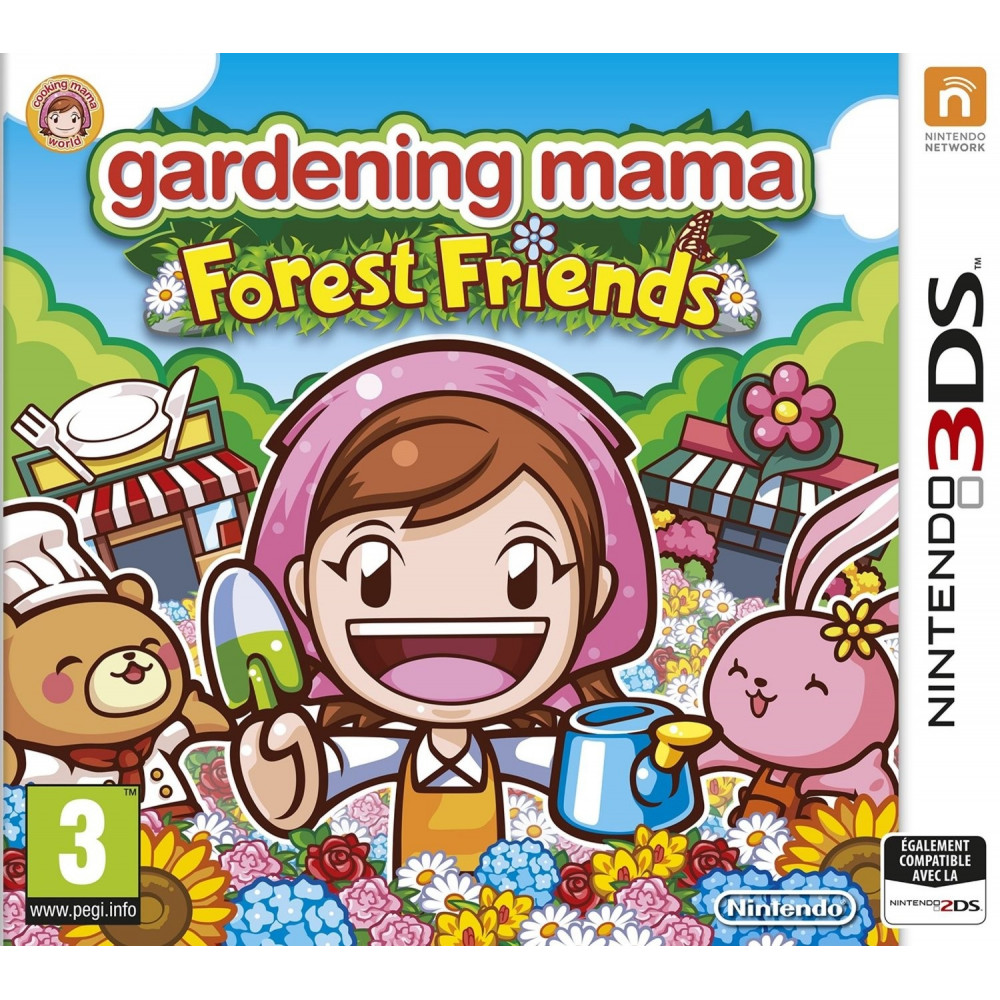 GARDENING MAMA FOREST FRIENDS 3DS FR OCCASION