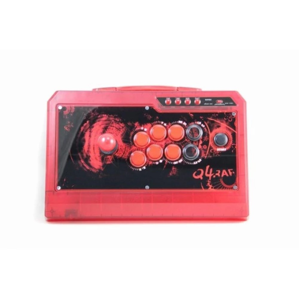 ARCADE STICK QANBA Q4F RAF 3IN1 LIMITED ICE RED OCCASION (EN BOITE)