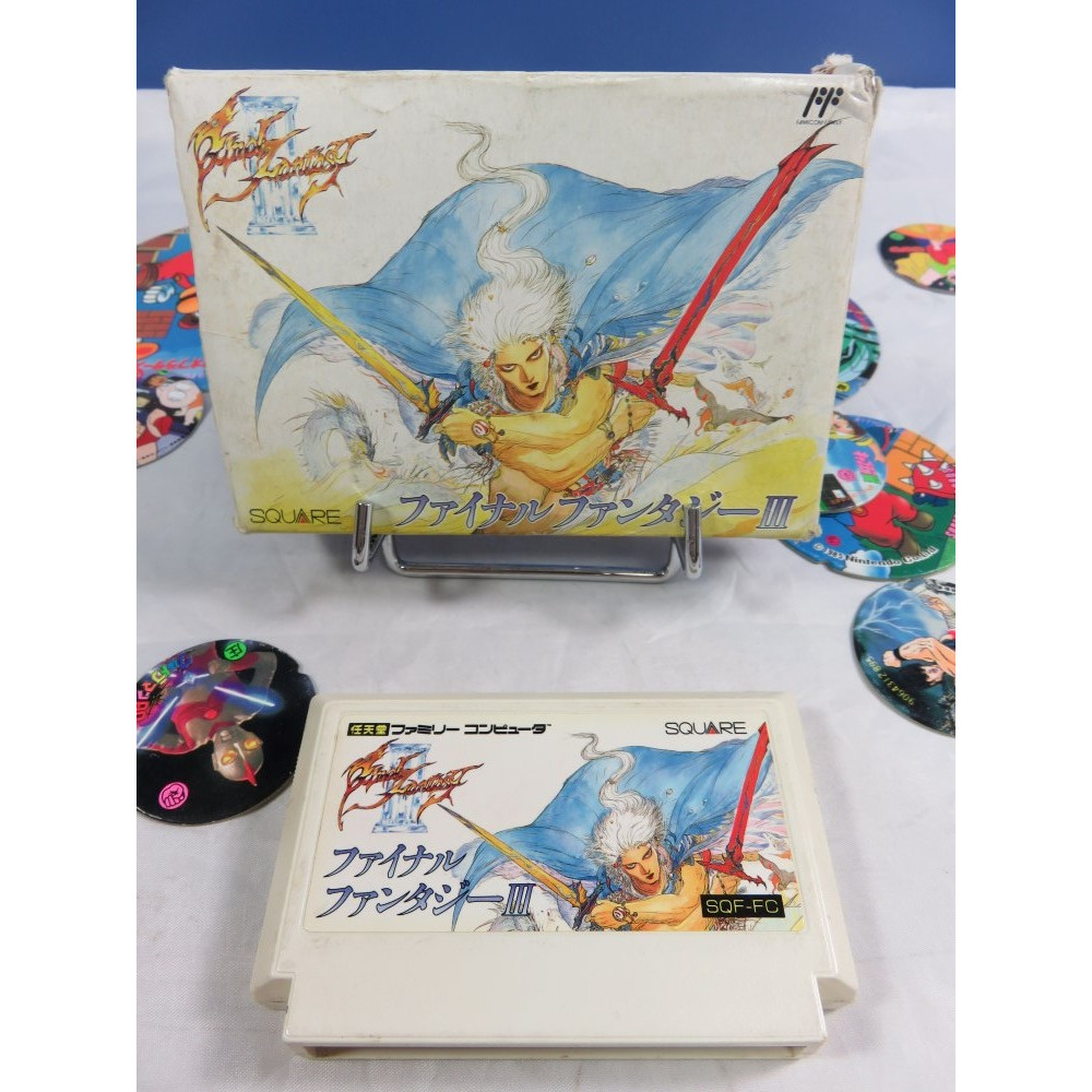 FINAL FANTASY III (SANS NOTICE) FAMICOM NTSC-JPN OCCASION