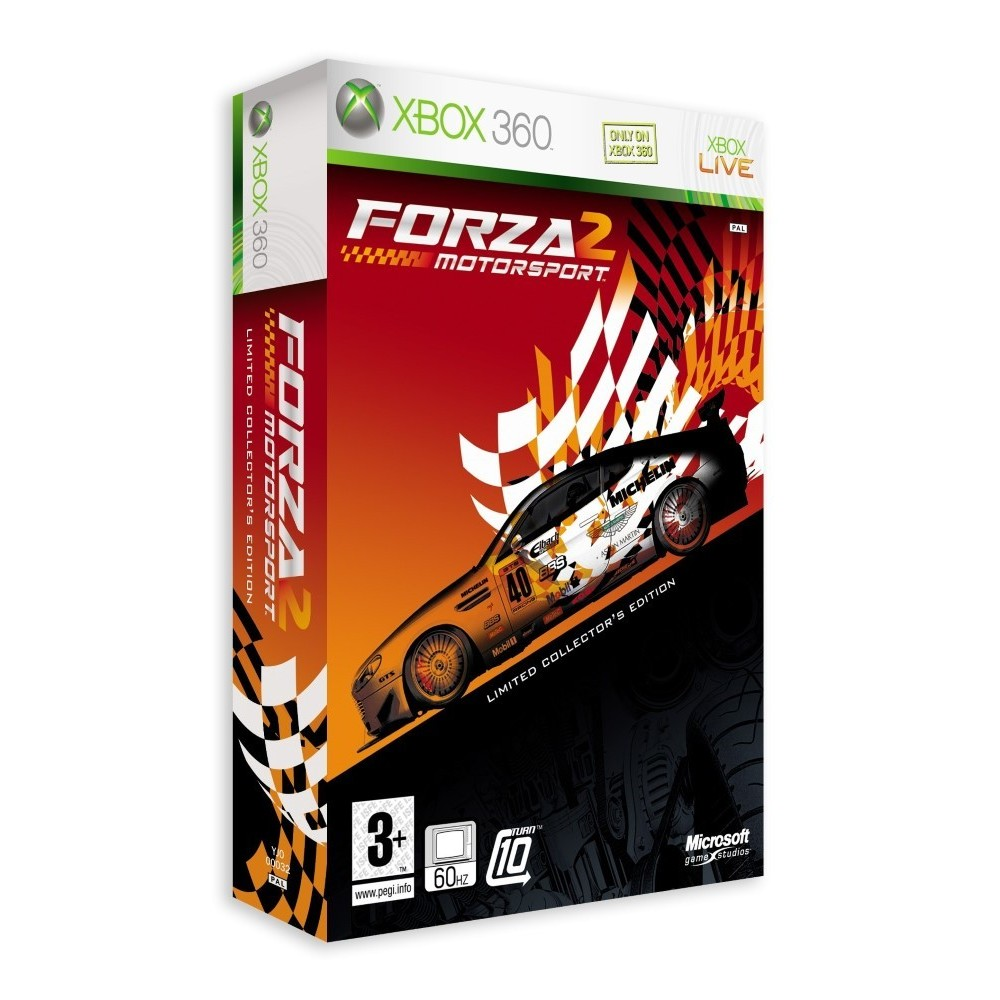 FORZA MOTORSPORT 2 EDITION COLLECTOR LIMITEE XBOX 360 PAL-FR OCCASION