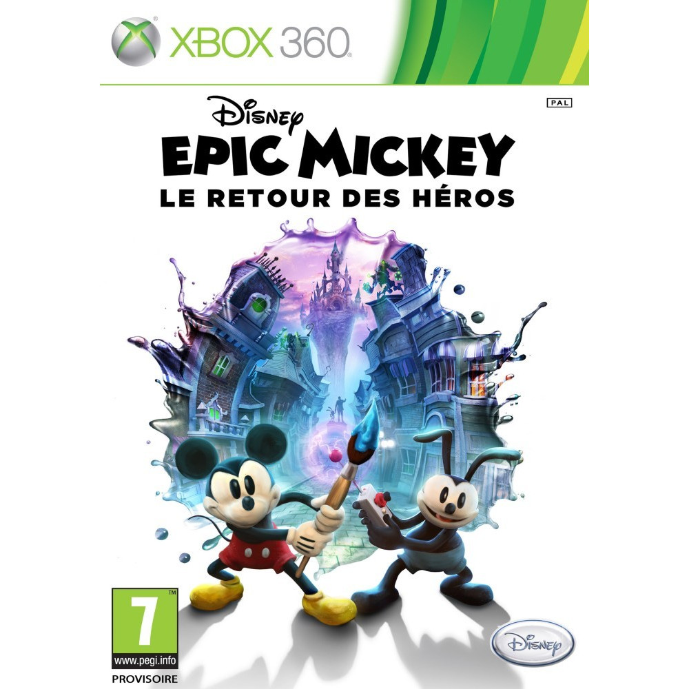 EPIC MICKEY 2 XBOX 360 PAL-FR OCCASION