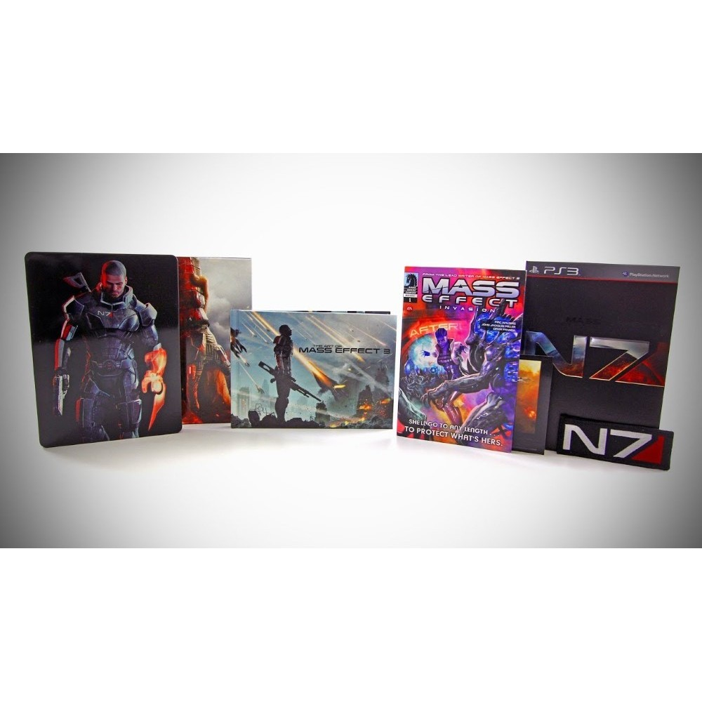 MASS EFFECT 3 EDITION COLLECTOR XBOX 360 PAL-FR OCCASION