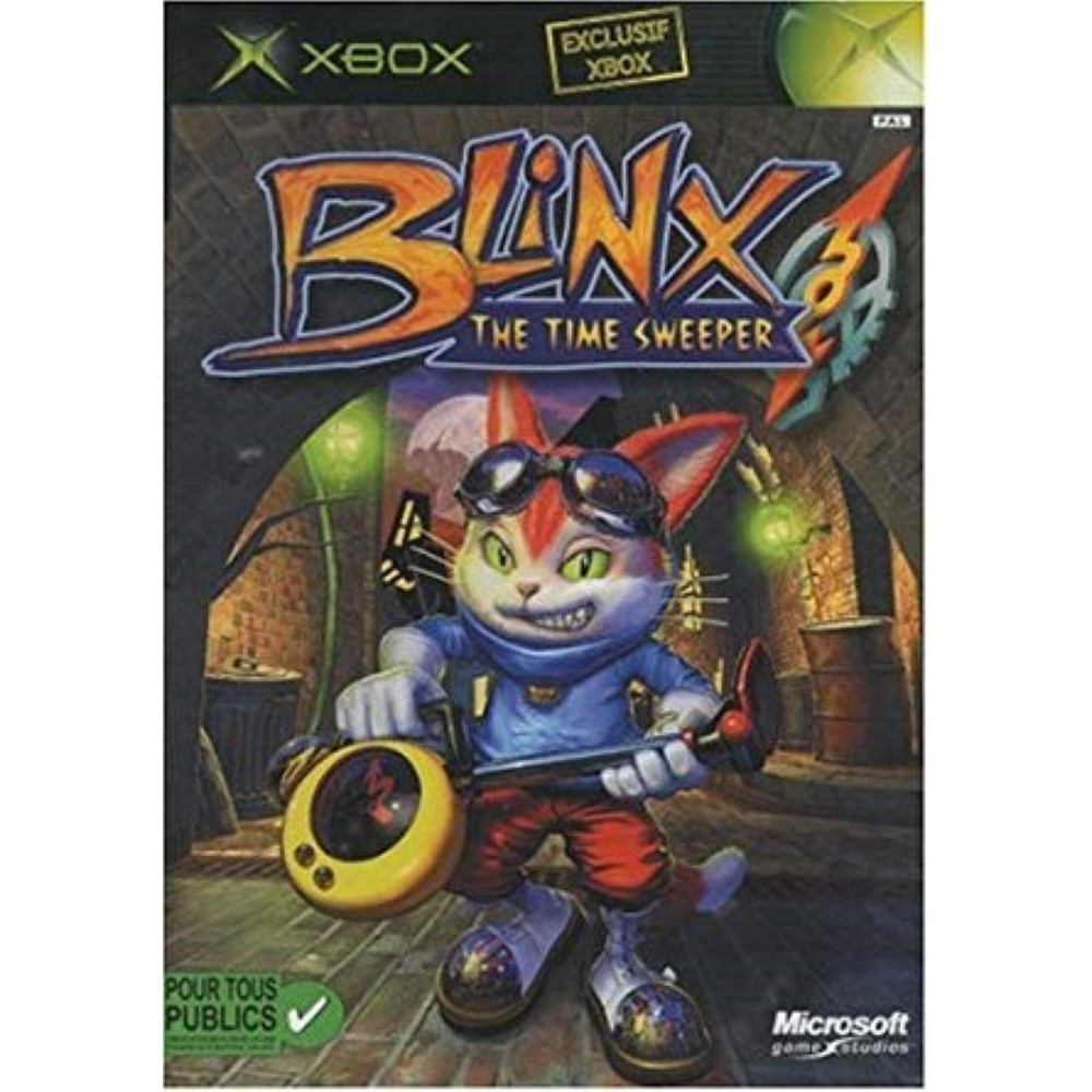 BLINX XBOX PAL FR OCCASION