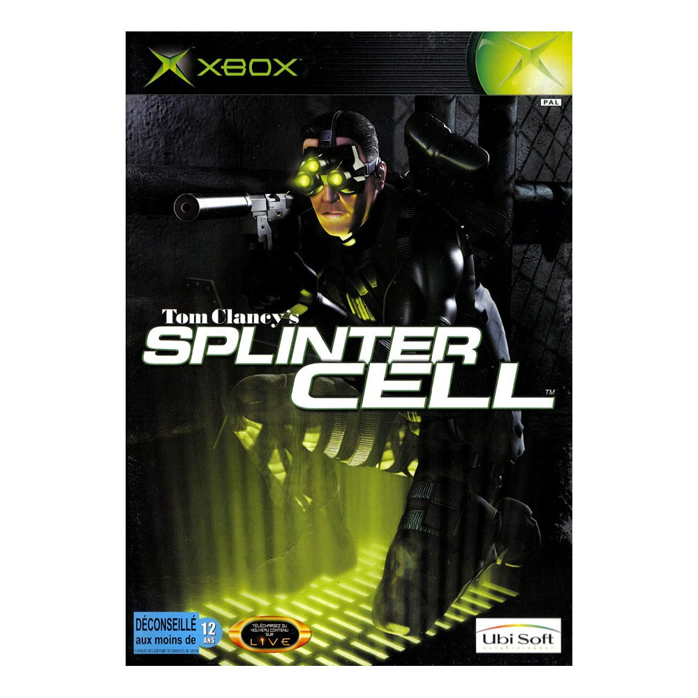 SPLINTER CELL XBOX PAL-FR OCCASION