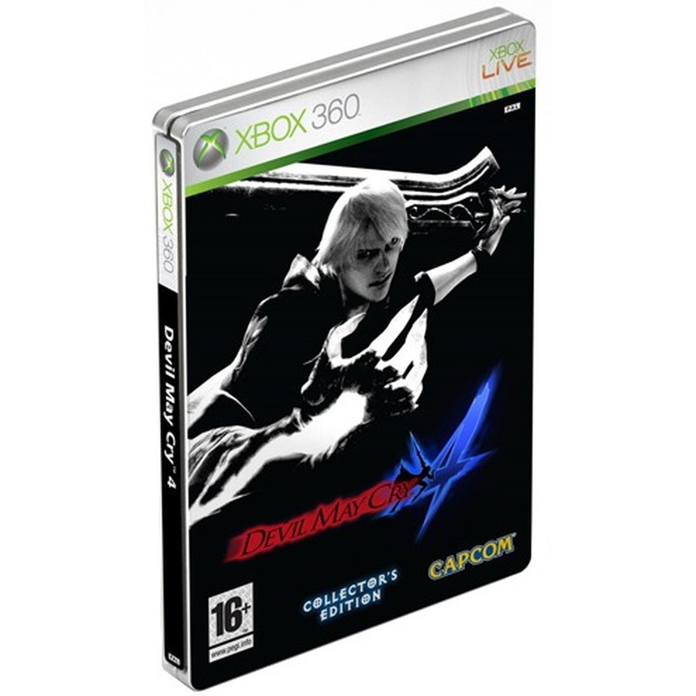 DEVIL MAY CRY 4 COLLECTOR XBOX 360 PAL-FR OCCASION
