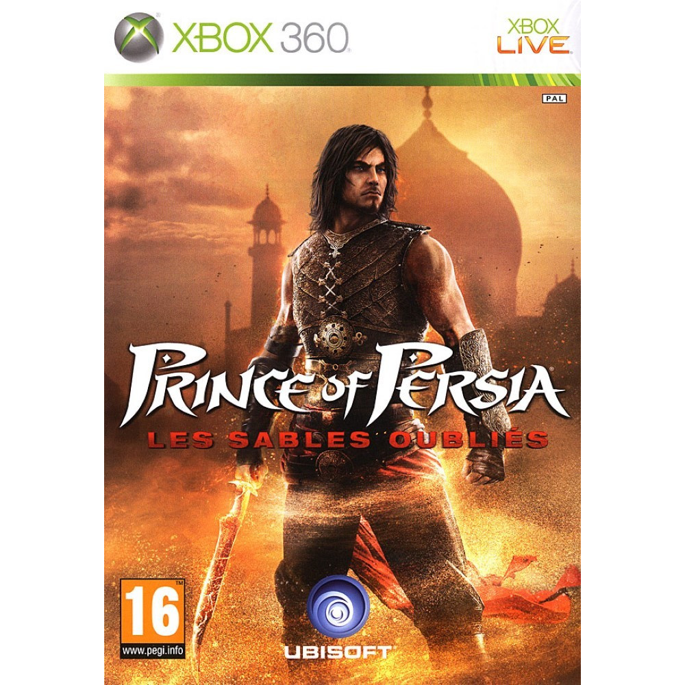 PRINCE OF PERSIA LES SABLES OUBLIES XBOX 360 PAL-FR OCCASION