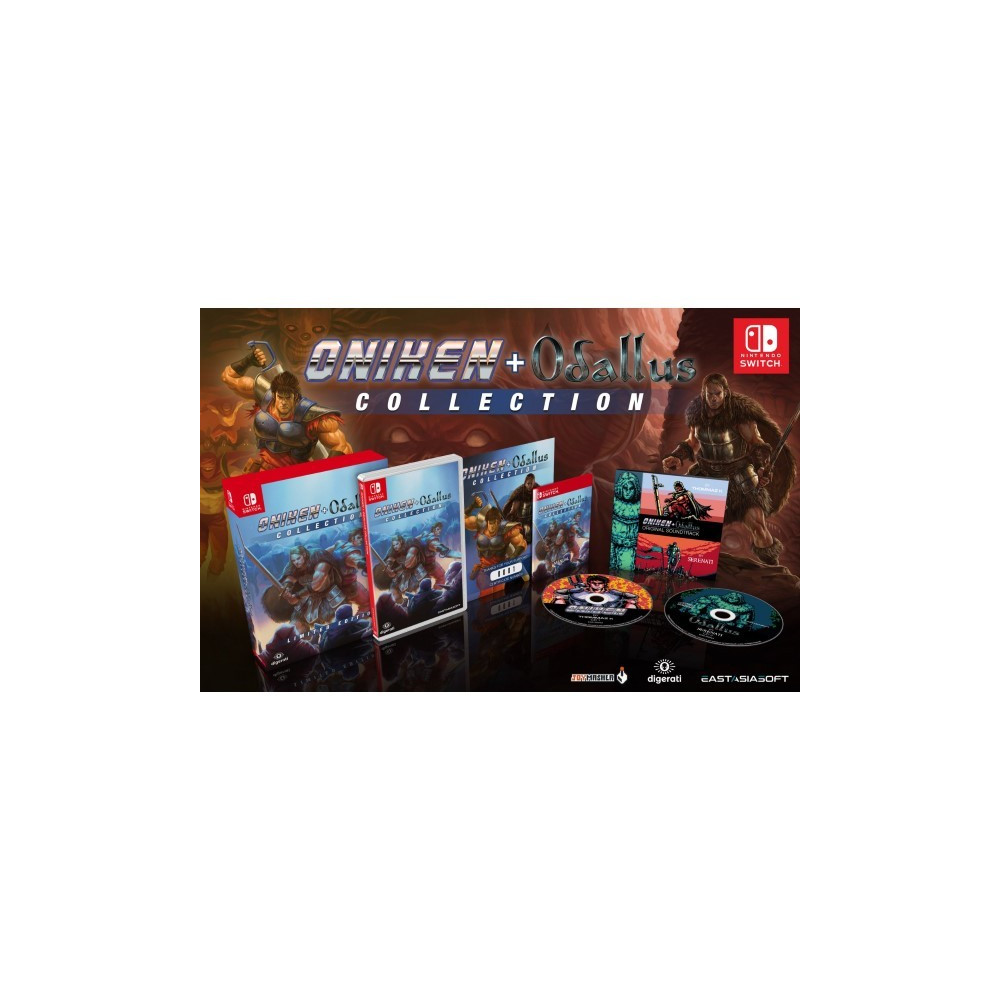 ONIKEN + ODALLUS COLLECTION LIMITED EDITION SWITCH ASIAN NEW