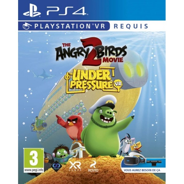 ANGRY BIRDS 2 MOVIE VR PS4 FR NEW