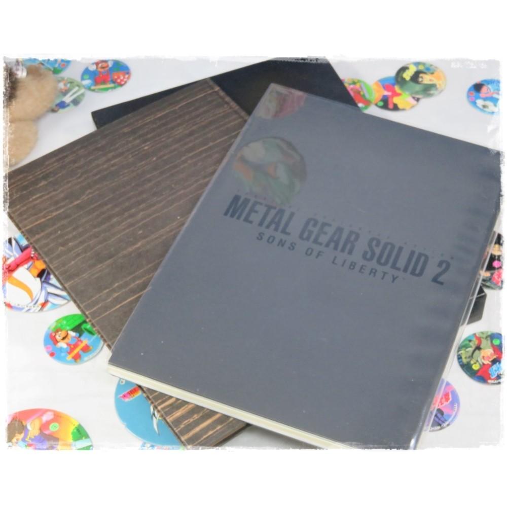 THE ART OF METAL GEAR SOLID 2 KONAMI STYLE LIMITED BOX SET ARTWORKS JPN