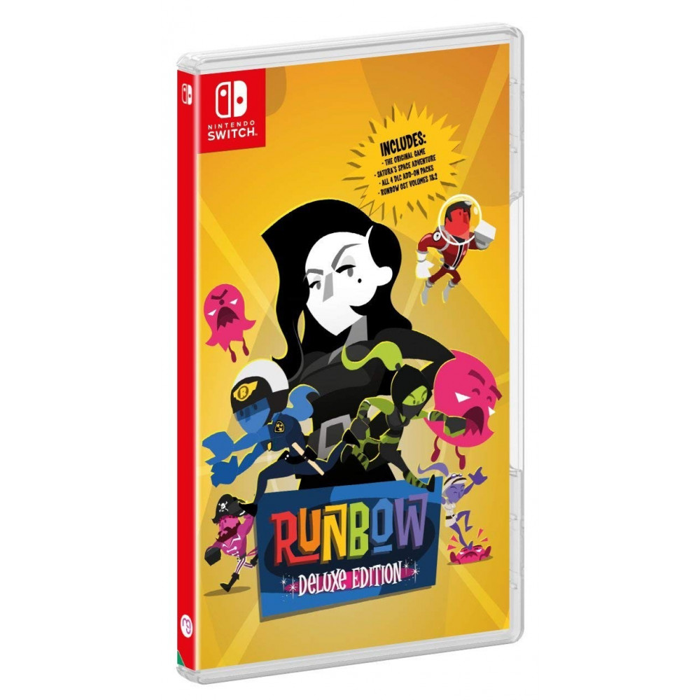 RUNBOW DELUXE EDITION SWITCH FR OCCASION