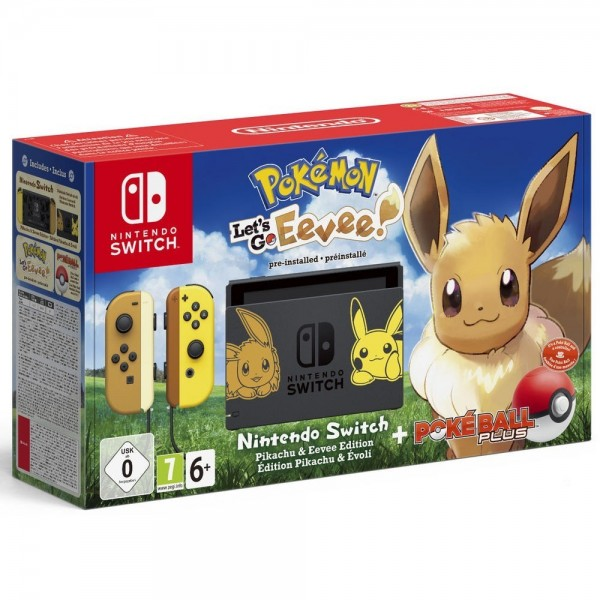 CONSOLE SWITCH POKEMON LET S GO EVOLI LIMITED EURO OCCASION