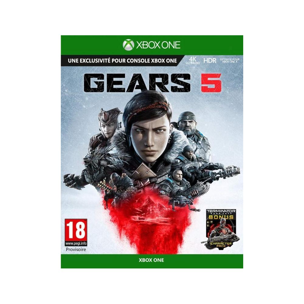 GEARS 5 XBOX ONE UK NEW