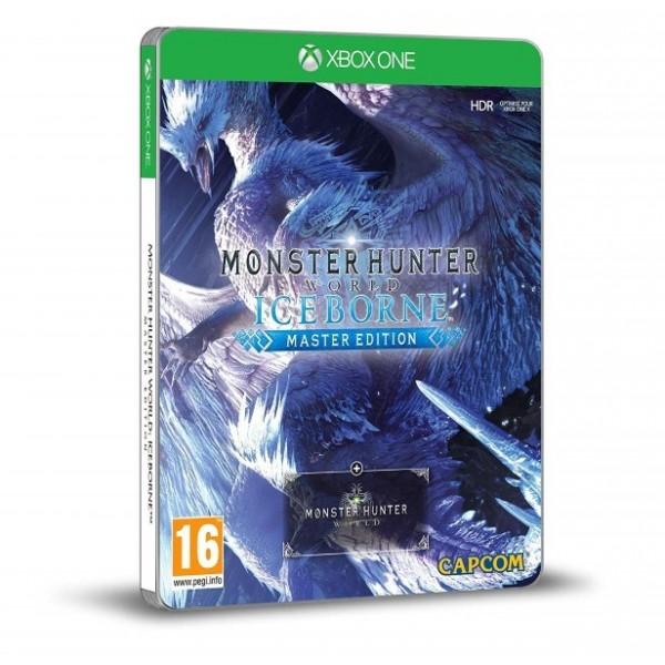 MONSTER HUNTER WORLD ICEBORNE STEELBOOK XBOX ONE UK NEW