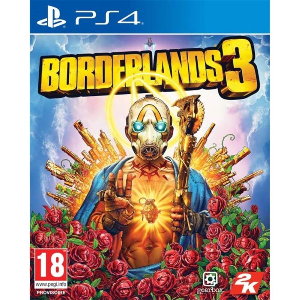 BORDERLANDS 3 PS4 PAL FR NEW