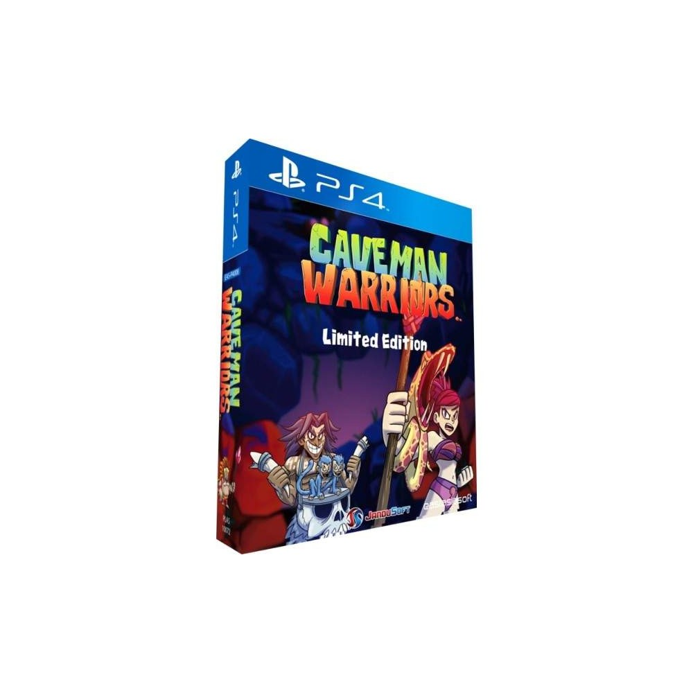 CAVEMAN WARRIORS LIMITED EDITION PS4 ASIAN OCCASION