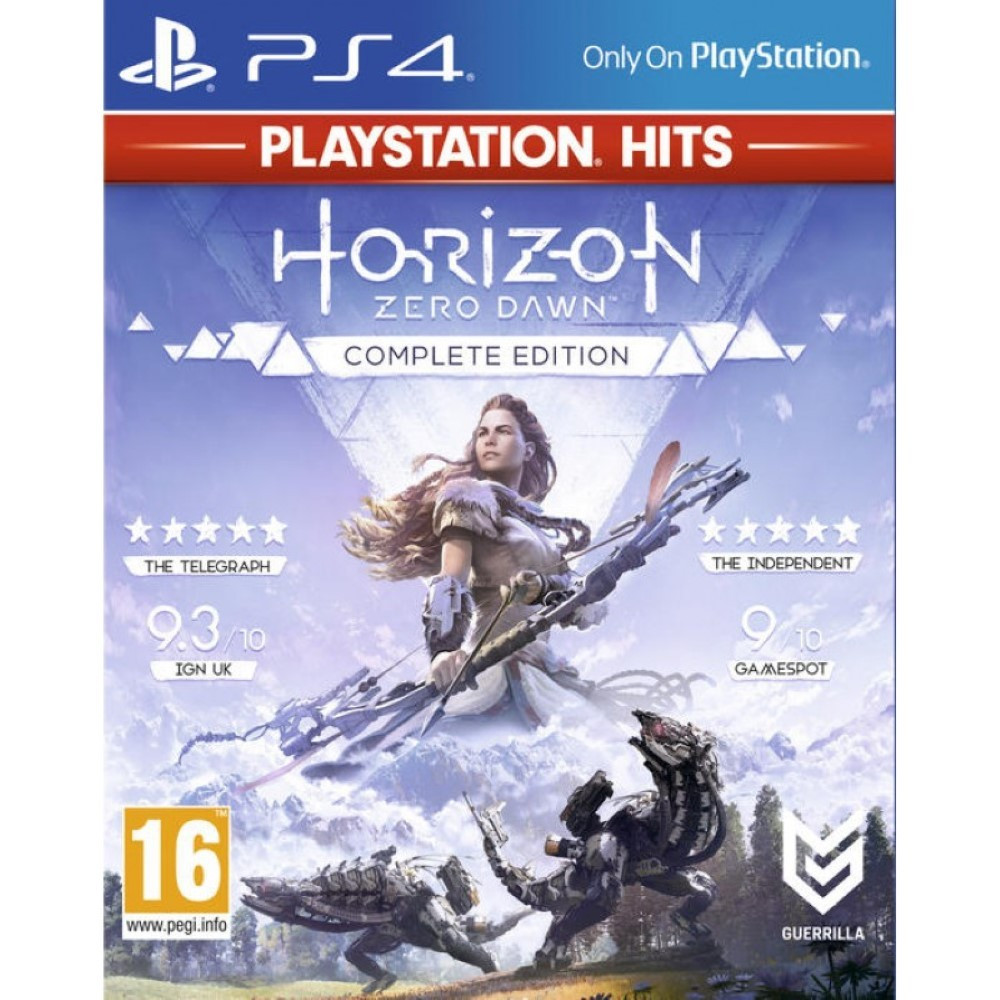 HORIZON ZERO DAWN COMPLETE EDITION PLAYSTATION HITS PS4 FR NEW