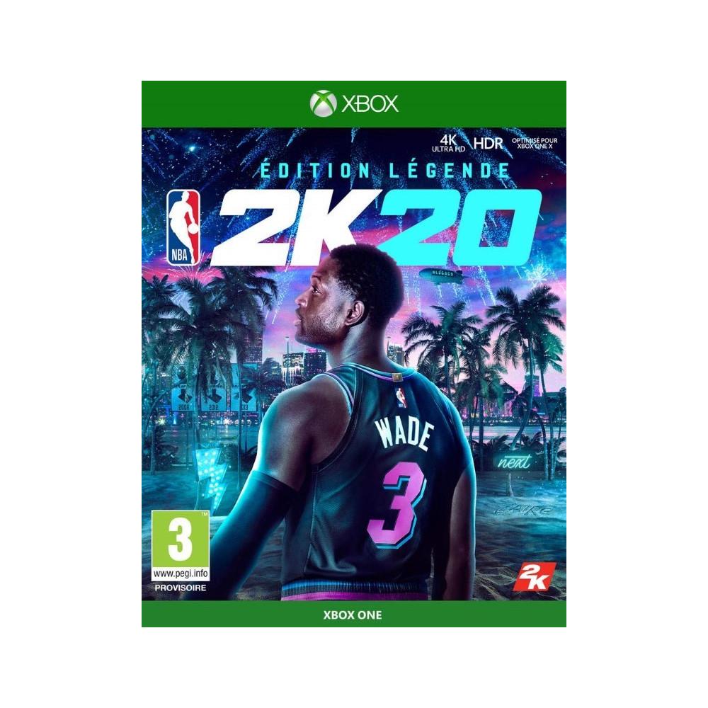 NBA 2K20 EDITION LEGENDAIRE XBOX ONE FR NEW