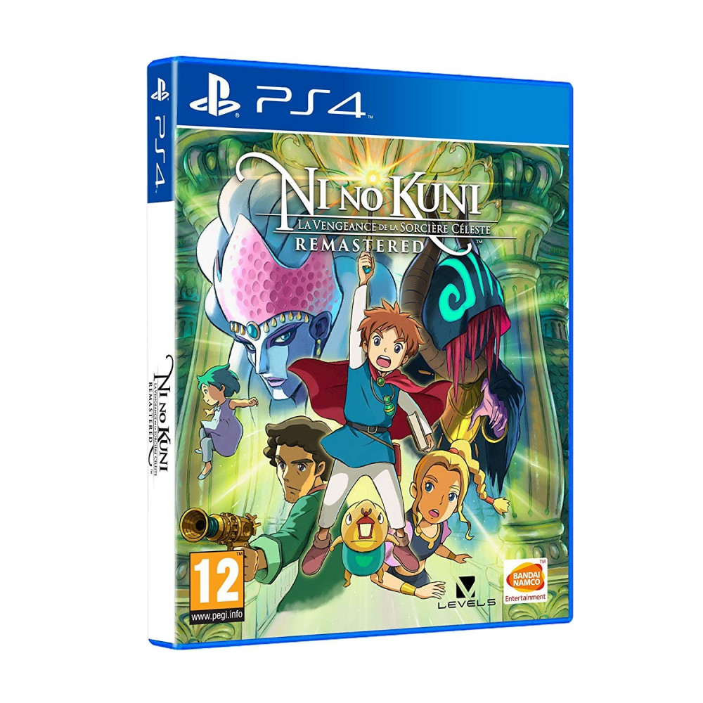 NI NO KUNI La Vengeance de la Sorcière Céleste - REMASTERED PS4 PS4 FR NEW