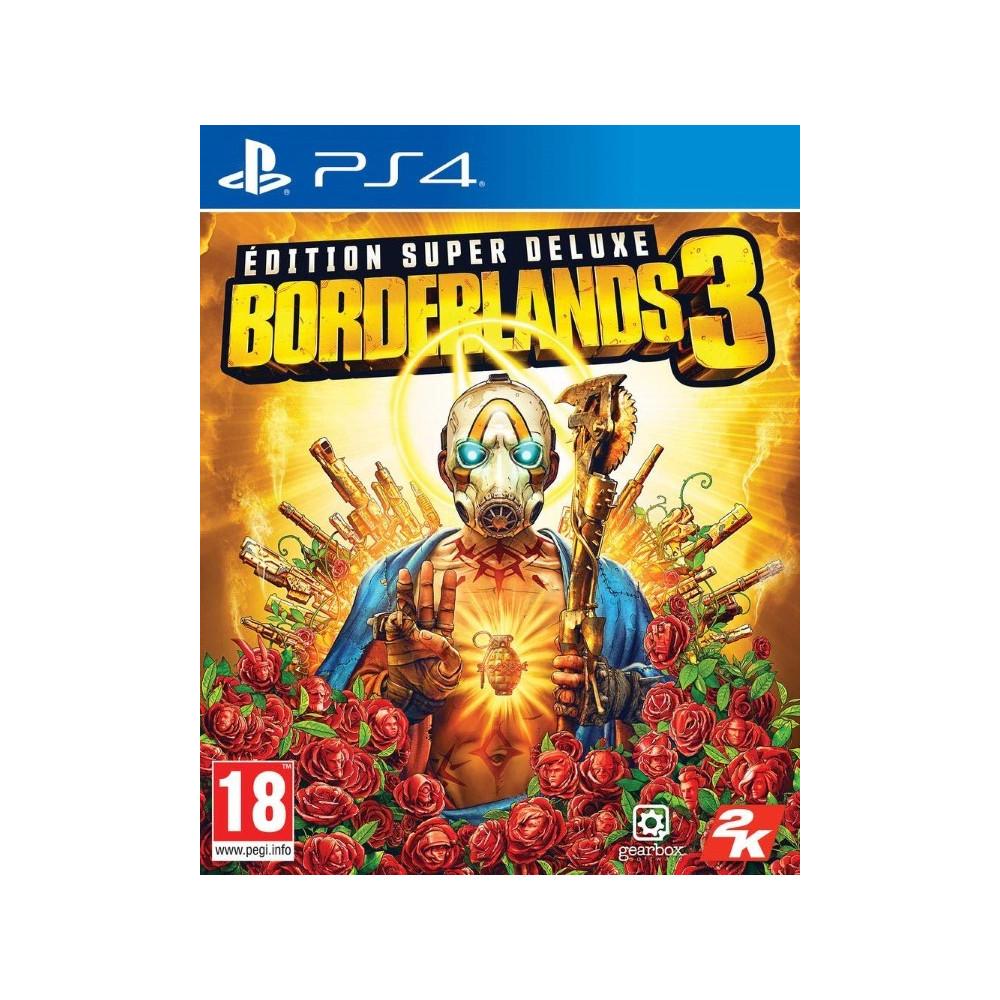 BORDERLANDS 3 SUPER DELUXE PS4 EURO FR NEW