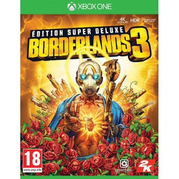 BORDERLANDS 3 EDITION SUPER DELUXE XBOX ONE FR NEW