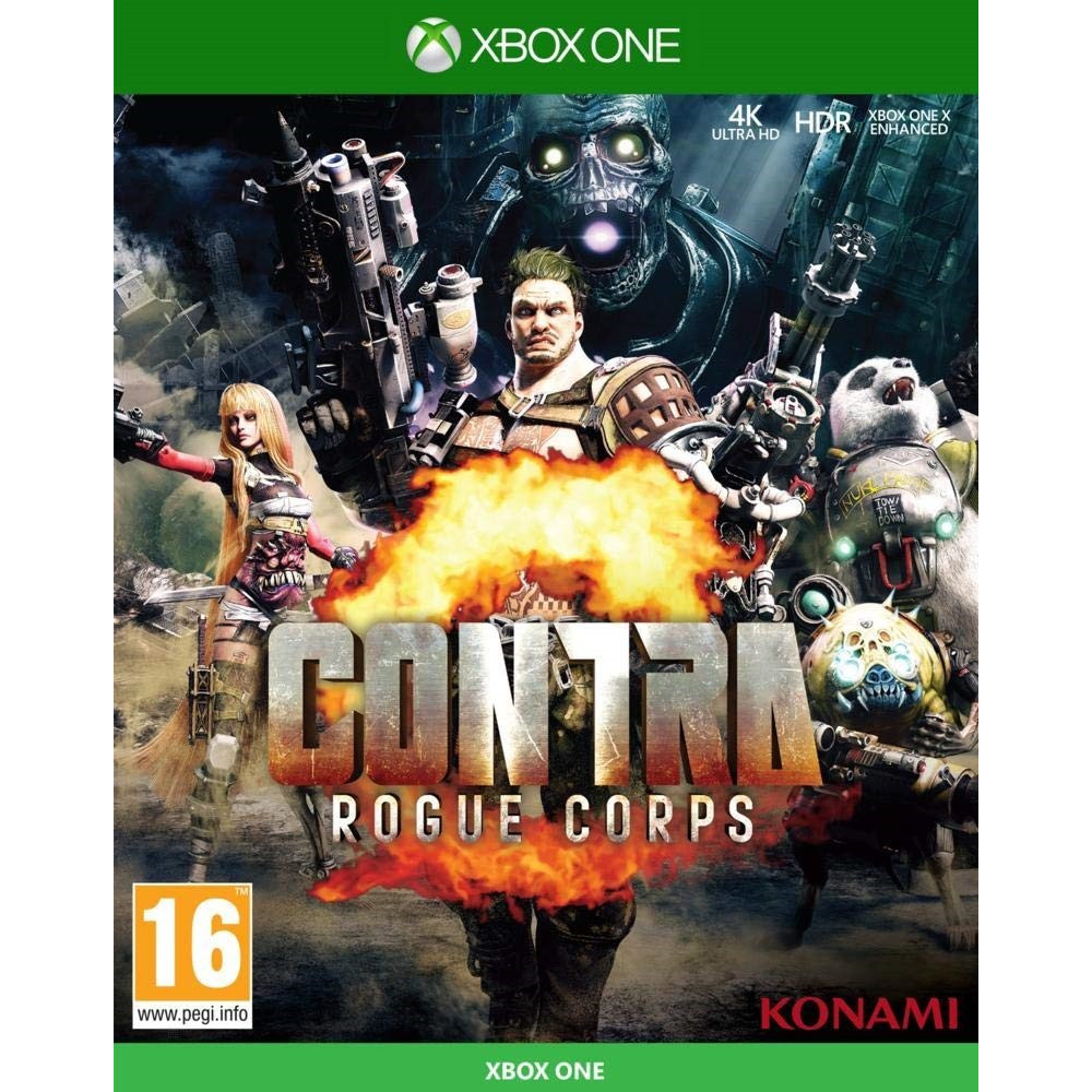 CONTRA ROGUE CORPS XBOX ONE UK NEW