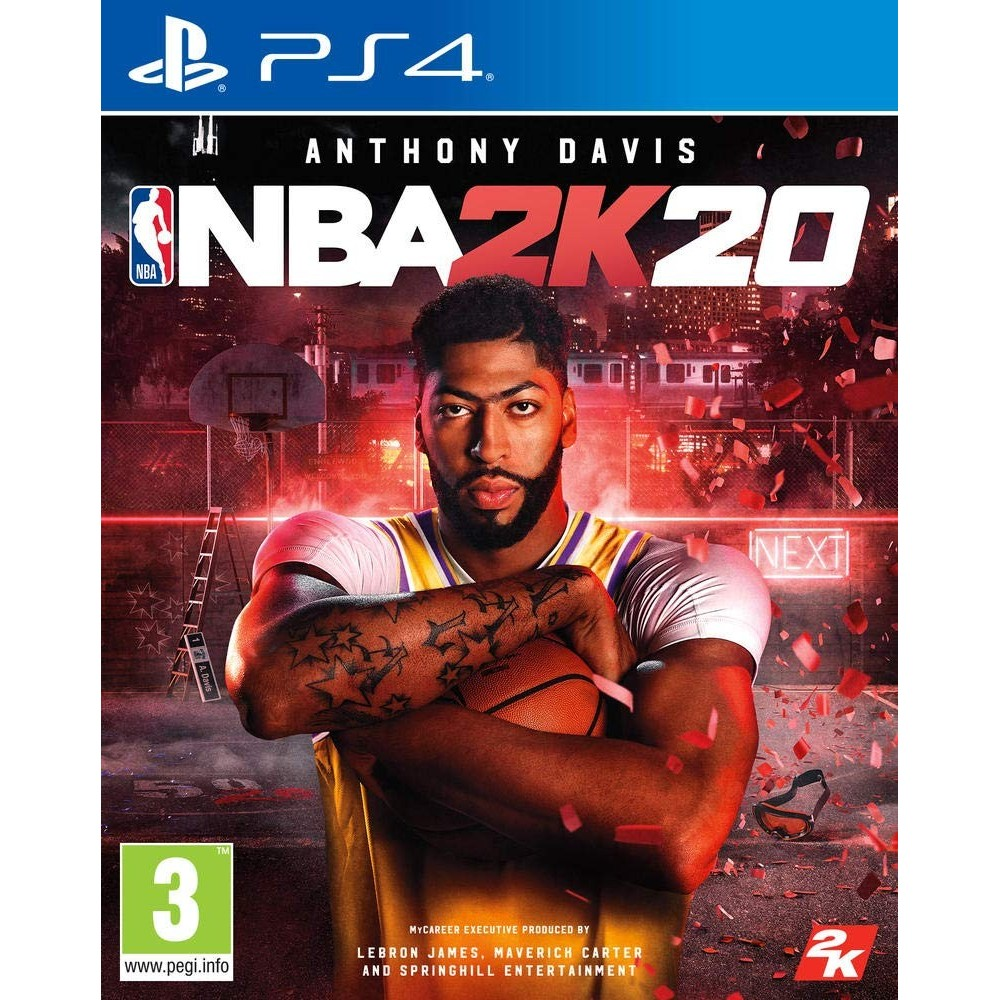 NBA 2K20 PS4 FR OCCASION
