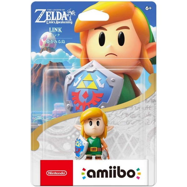 AMIIBO THE LEGEND OF ZELDA SERIES LINK ISLAND OF DREAMS JAP NEW