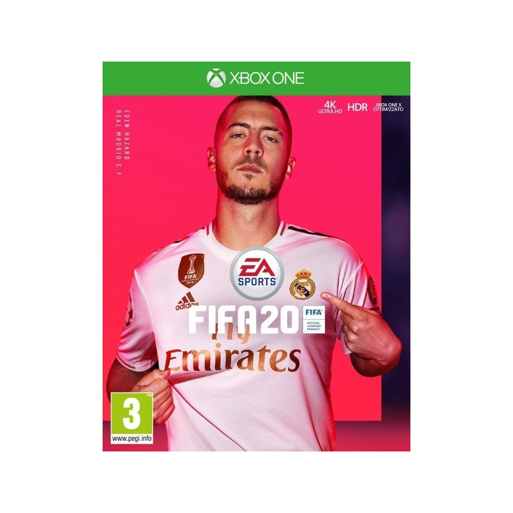 FIFA 20 XBOX ONE UK NEW