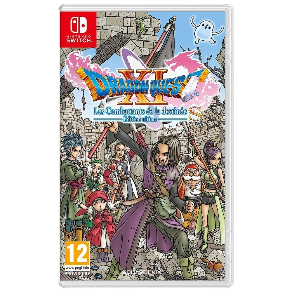 DRAGON QUEST XI SWITCH UK NEW