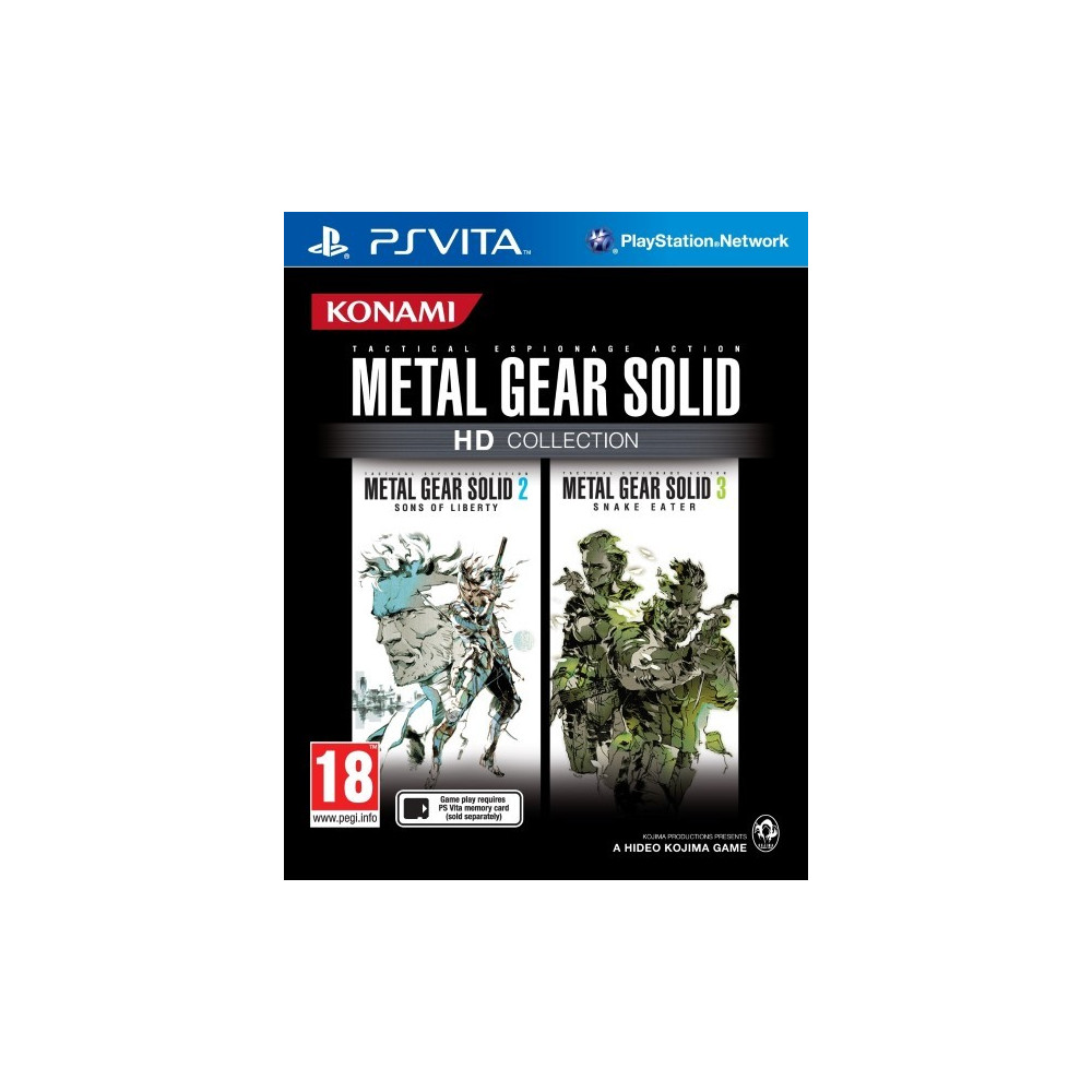 METAL GEAR SOLID HD COLLECTION PSVITA UK OCCASION