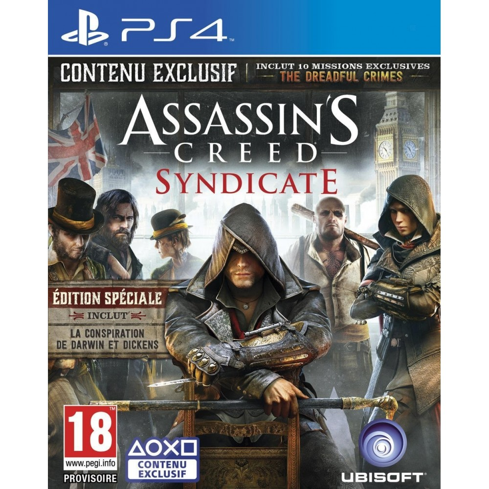 ASSASSIN S CREED SYNDICATE PS4 FR OCCASION