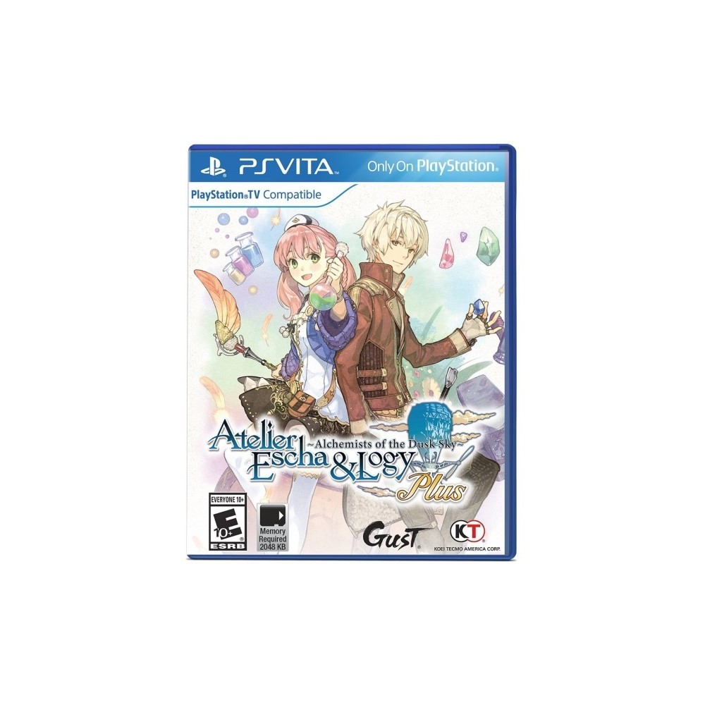 ATELIER ESCHA AND LOGY PLUS ALCHEMISTS OF THE DUSK SKY PSVITA US OCCASION