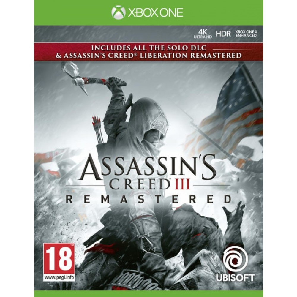 ASSASSIN S CREED 3 REMASTERED XBOX ONE FR OCCASION
