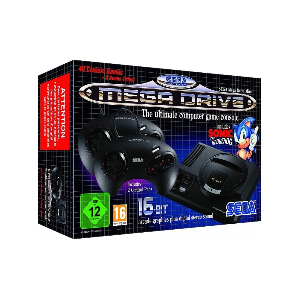 CONSOLE MEGADRIVE MINI EURO NEW