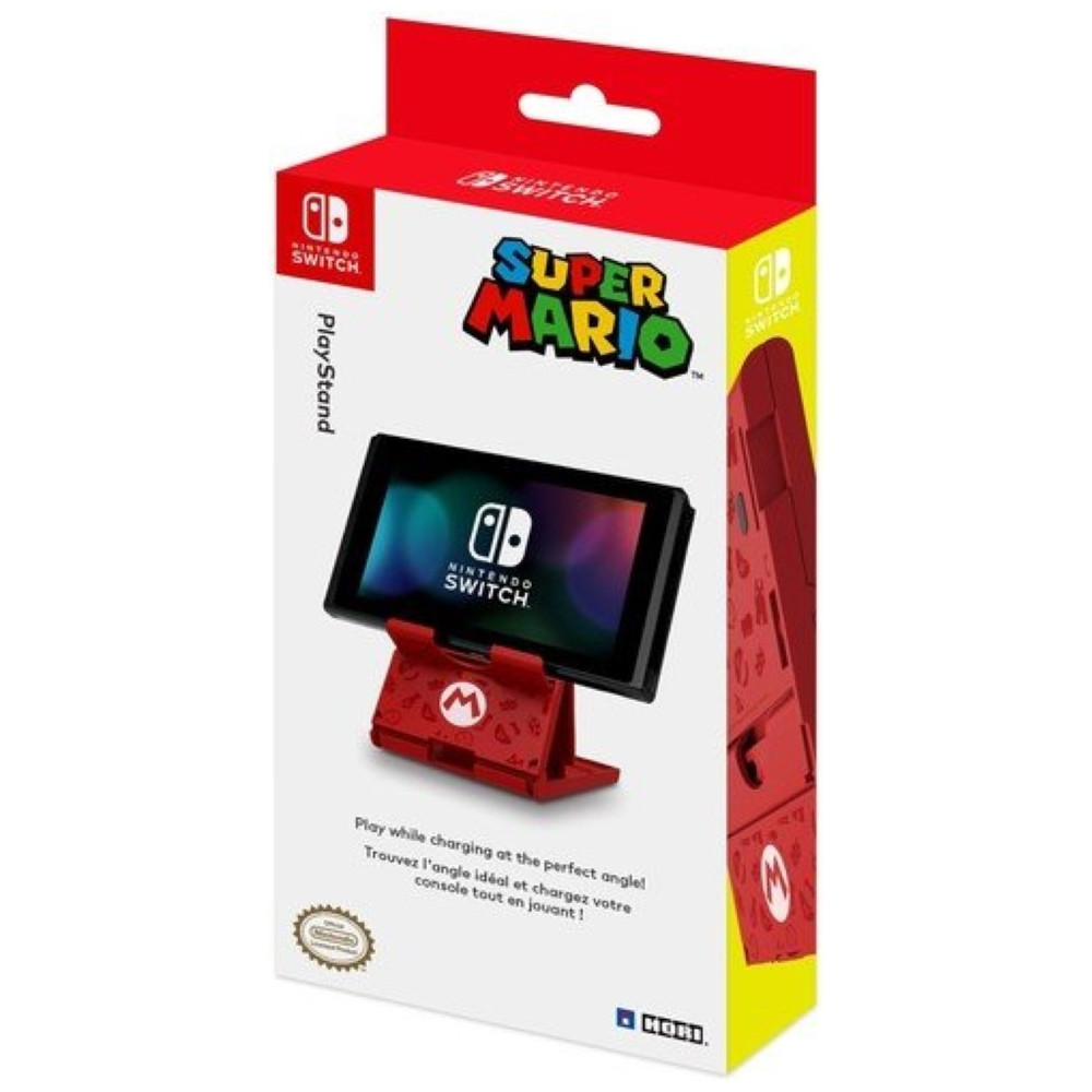 SUPPORT PLAYSTAND HORI MARIO SWITCH EURO OCCASION
