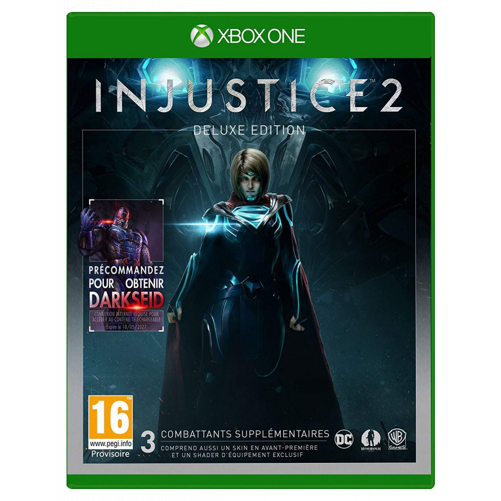 INJUSTICE 2 DELUXE EDITION XBOX ONE FR OCCASION