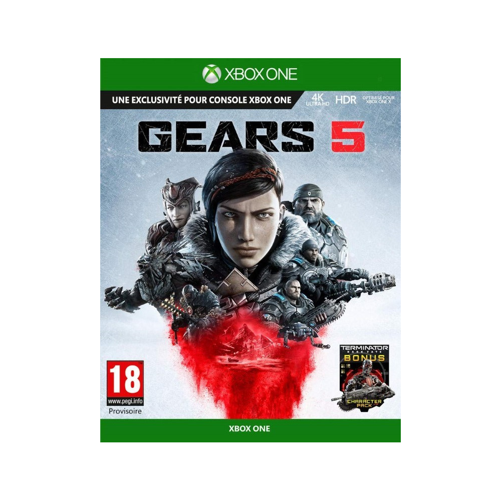 GEARS 5 XBOX ONE FR OCCASION
