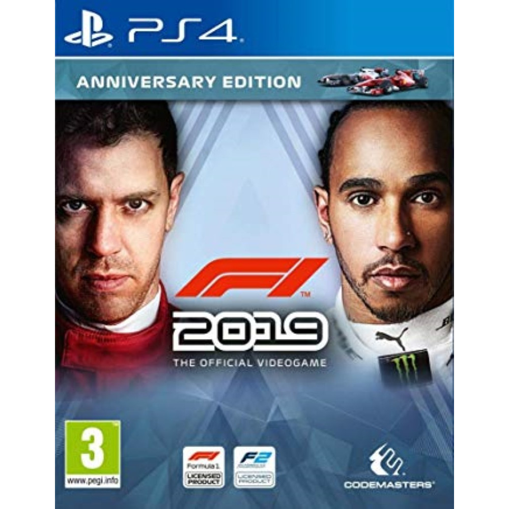F1 2019 EDITION ANNIVERSAIRE PS4 FR OCCASION
