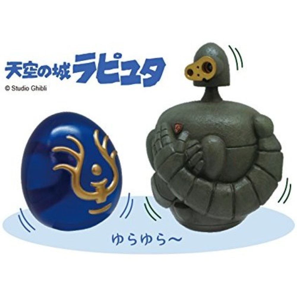 FIGURINE TANOSHIKU YURA YURA ROLY-POLY LAPUTA: CASTLE IN THE SKY JAP NEW