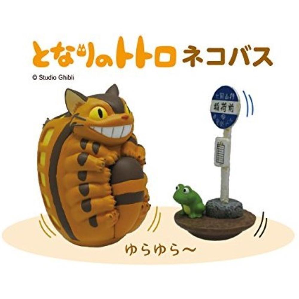 FIGURINE TANOSHIKU YURA YURA ROLY-POLY MY NEIGHBOR TOTORO CAT BUS JAP NEW