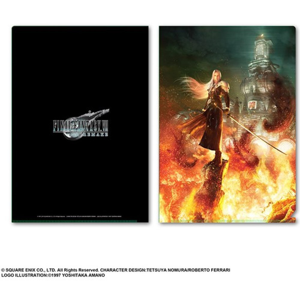DOSSIER FINAL FANTASY VII REMAKE METALLIC FILE VOL.2 JAP NEW