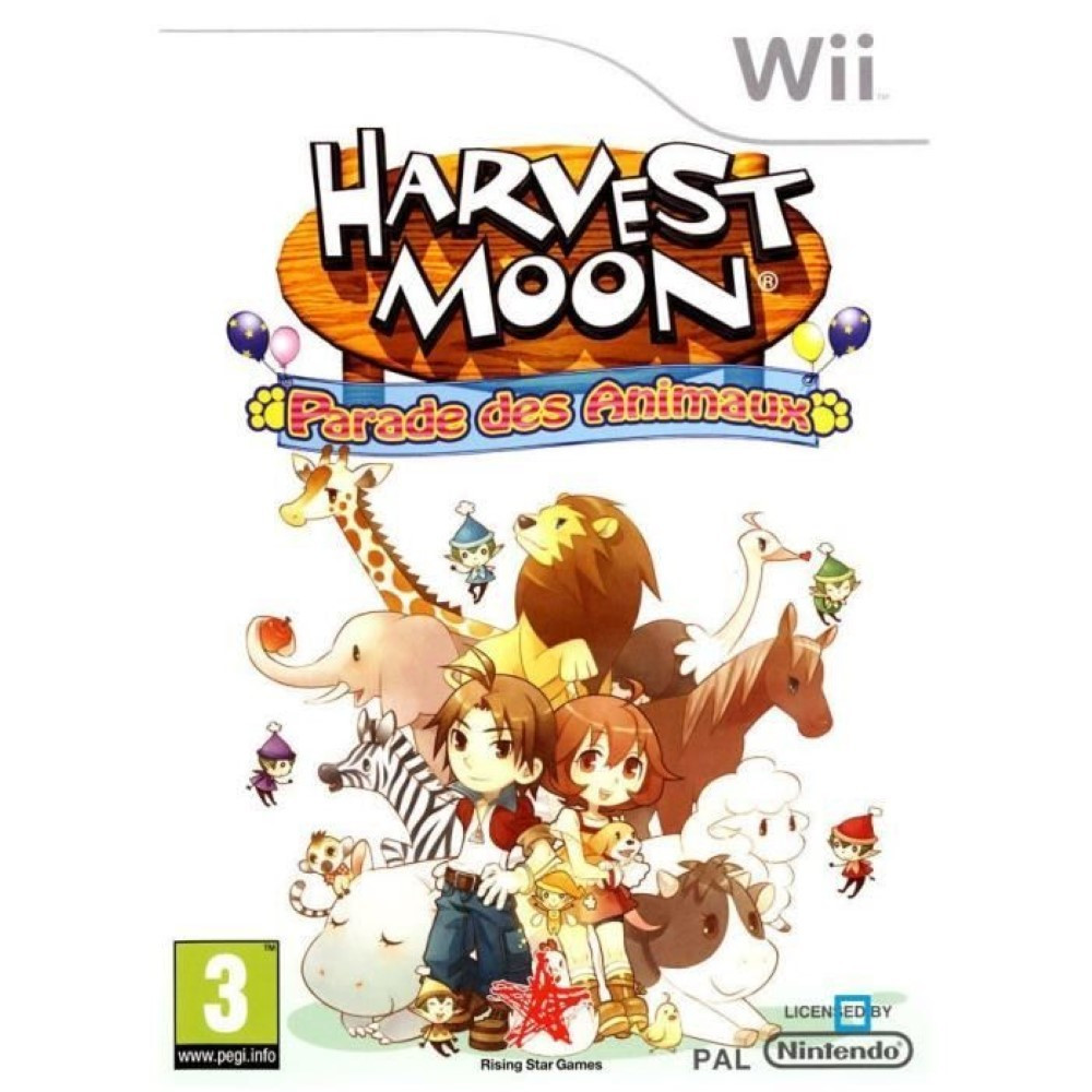 HARVEST MOON PARADE DES ANIMAUX WII PAL-FR OCCASION