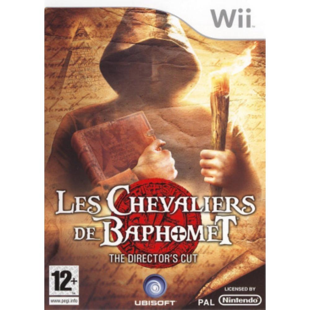 LES CHEVALIERS DE BAPHOMET THE DIRECTOR S CUT WII PAL-FR OCCASION