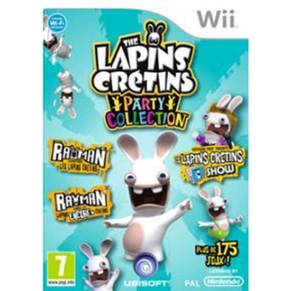 THE LAPINS CRETINS PARTY COLLECTION WII PAL-FR OCCASION