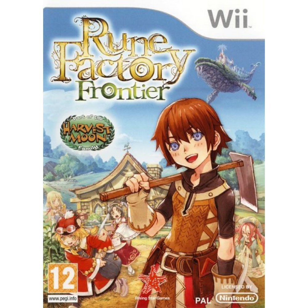 RUNE FACTORY FRONTIER WII PAL-FRA OCCASION