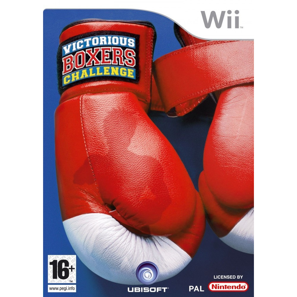 VICTORIOUS BOXERS CHALLENGE WII PAL-FRA OCCASION