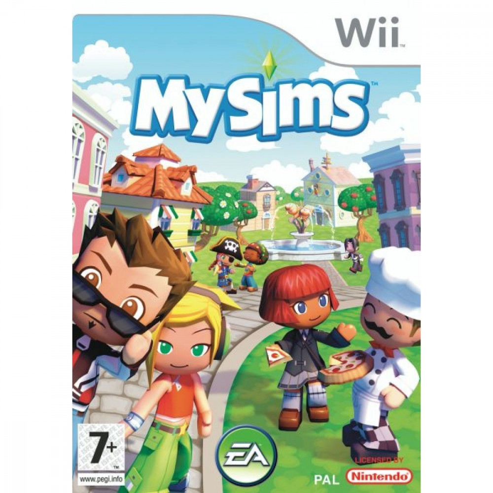 MY SIMS WII PAL-FR OCCASION